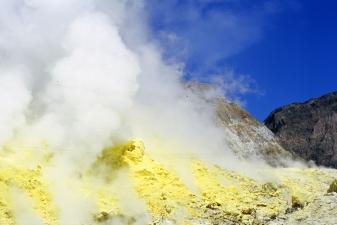 White Island - NZ tourist board