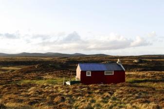 Peat cutting hut, Isle of Lewis