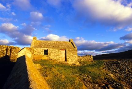 Croft house, Mousa, Shetland