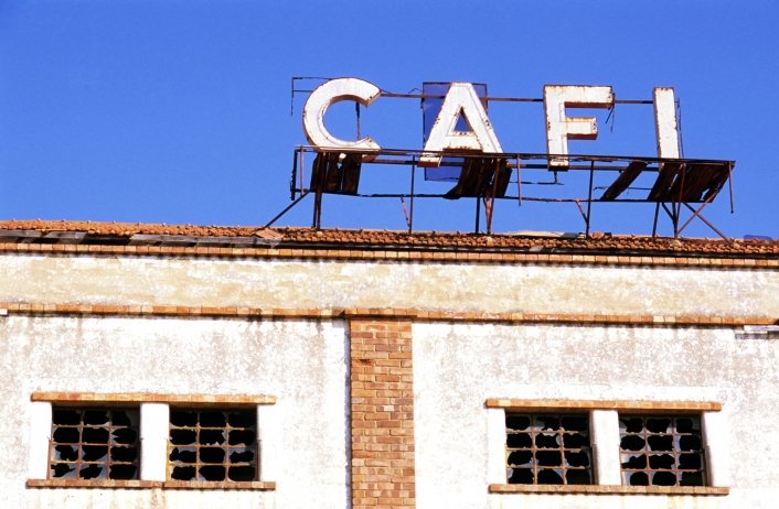 Old Factory Sign