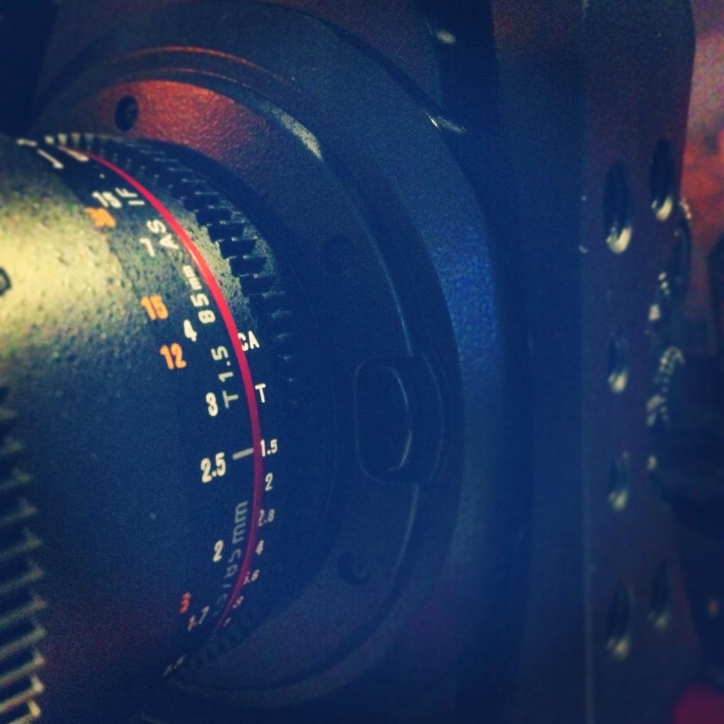 lens on C300